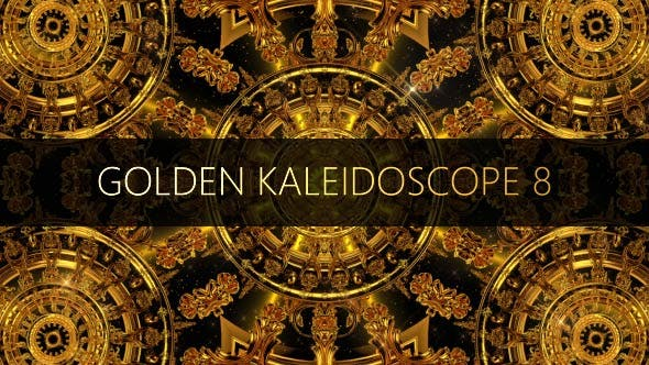 Thumbnail for Golden Kaleidoscope 8