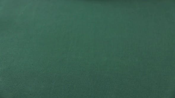 Thumbnail for Poker Player Moves Chips On Table At Casino. Casino Chips