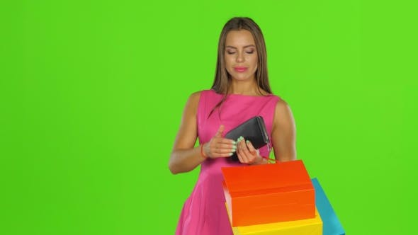 Thumbnail for Woman With Credit Card and Shopping Bags