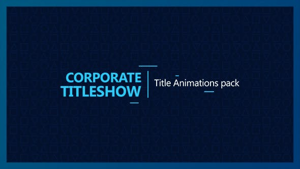 Cover Image for Corporate Titleshow
