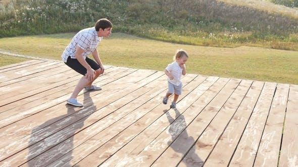 Thumbnail for Happy Family Having Fun Outdoors