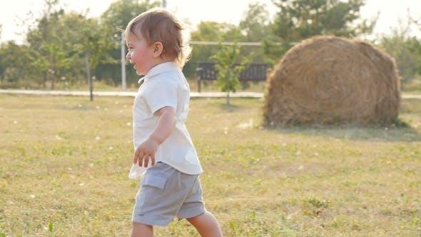Little Boy In Sunlight