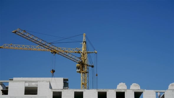 Thumbnail for Working Construction Cranes.