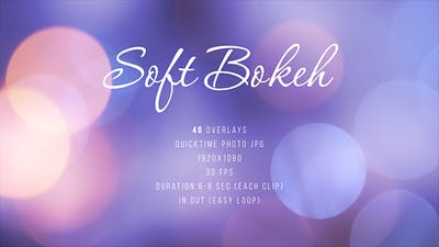 Soft Bokeh Pack