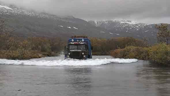 Thumbnail for Truck Rides on River
