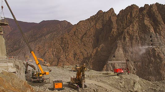 Thumbnail for Dam Under Construction