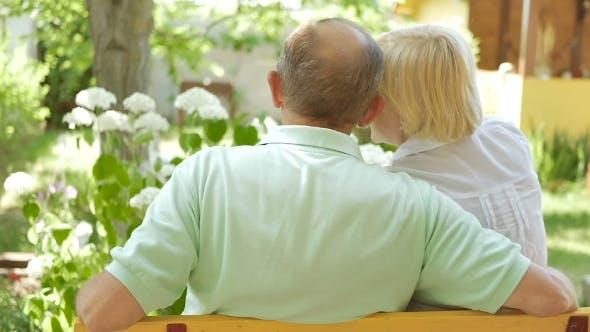 Thumbnail for Elderly People Talking In The Garden