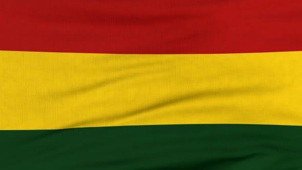 Thumbnail for Nationalflagge von Bolivien Fliegen auf dem Wind