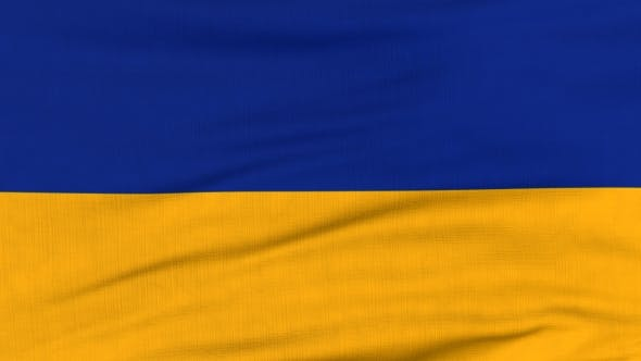Thumbnail for National Flag Of Ukraine Flying On The Wind