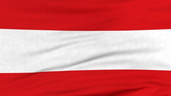 Thumbnail for National Flag Of Austria Flying On The Wind