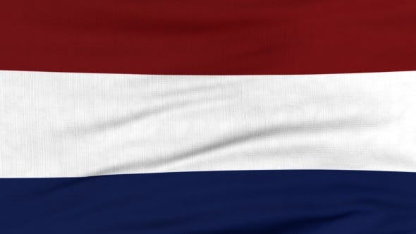 Thumbnail for National Flag Of Holland Flying On The Wind