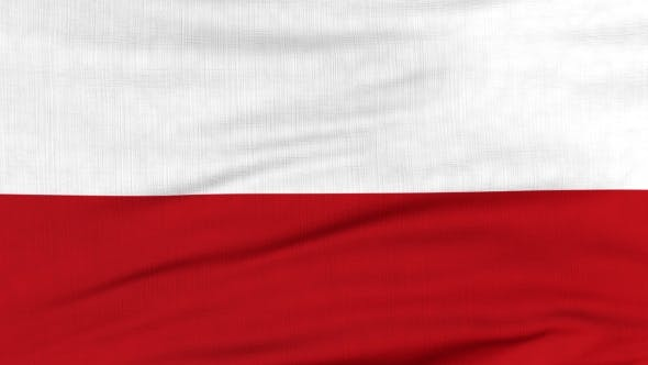 Thumbnail for National Flag Of Poland Flying On The Wind