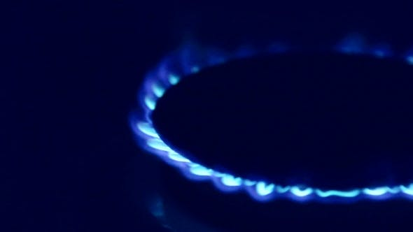 Thumbnail for Burning Blue Gas In The Kitchen