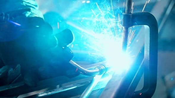 Thumbnail for Welder Industrial Automotive Part In Factory