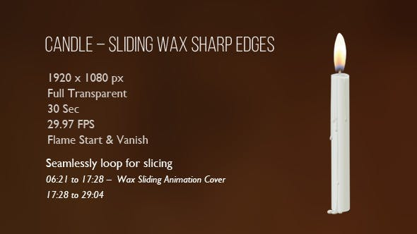 Thumbnail for Candle – Sliding Wax