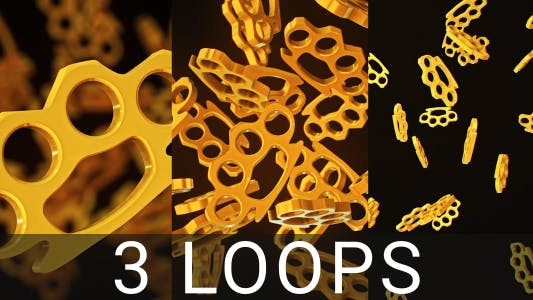 Thumbnail for Golden Knuckle Duster Loops