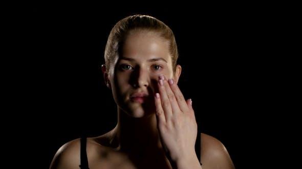 Thumbnail for Make-up Artist Makes The Girl a Makeover. Black