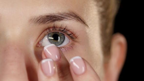 Thumbnail for Moisturize Skin Around The Eyes. Make Up.