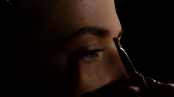 Thumbnail for Coloring Of Shadows Eyebrow. Black.