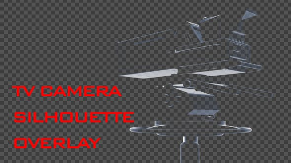 Cover Image for TV Camera Silhouette Overlay