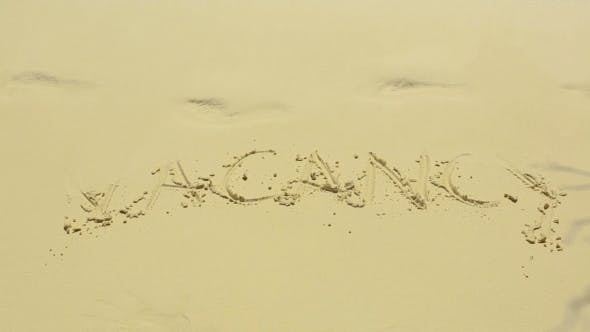 Thumbnail for Vacancy Sign On Sand