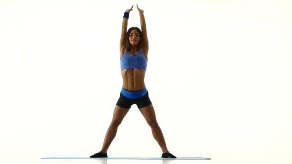 Thumbnail for Woman Performs a Forward And Backward Tilt