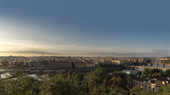 Cover Image for Morning Prague Panorama