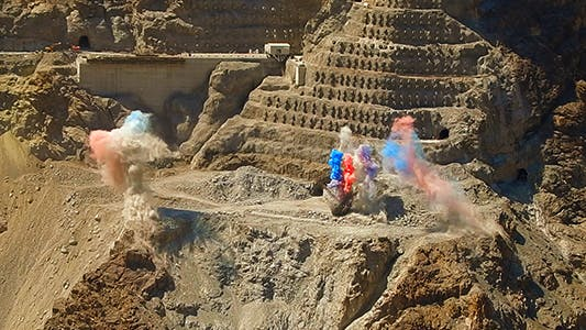 Thumbnail for Dynamite Blasting At The Quarry