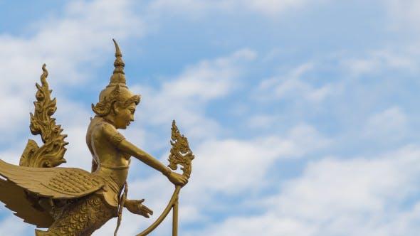 Golden Statue