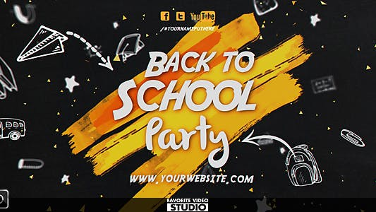 Thumbnail for Back 2 School Event