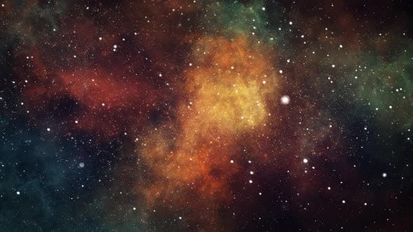 Thumbnail for Space Nebula Cosmic Motion Background
