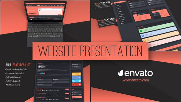 Thumbnail for Web Site Presentation