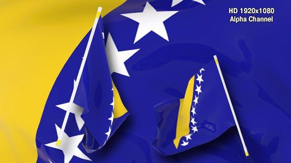 Thumbnail for Flag Transition - Bosnia and Herzegovina