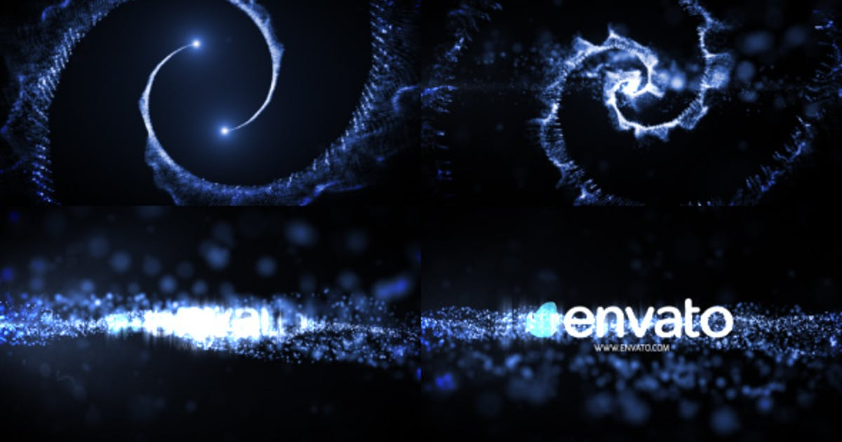 Logo Reveal Particle