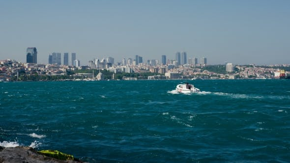 Thumbnail for Sea Traffic In Bosphorus Strait