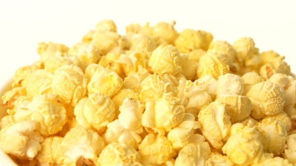 Thumbnail for Popcorn In Box On White,
