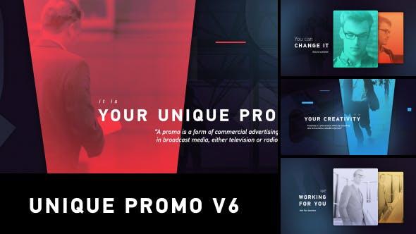 Thumbnail for Unique Promo v6 | Corporate Presentation