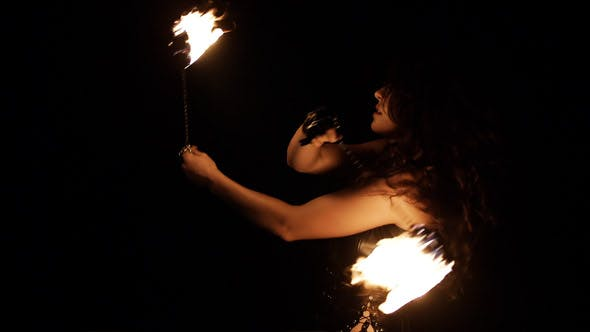 Fire Dance Performance 9