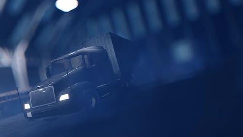 Luxury Truck in the Garage