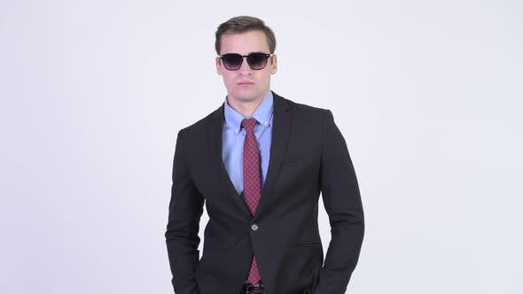 Thumbnail for Young Handsome Businessman Wearing Sunglasses