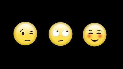 Different emoji