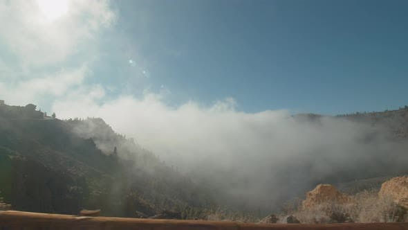 Thumbnail for Mountain Landscape with Clouds on Tenerife in the Canary Islands