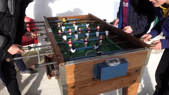 Thumbnail for Playing Table Football