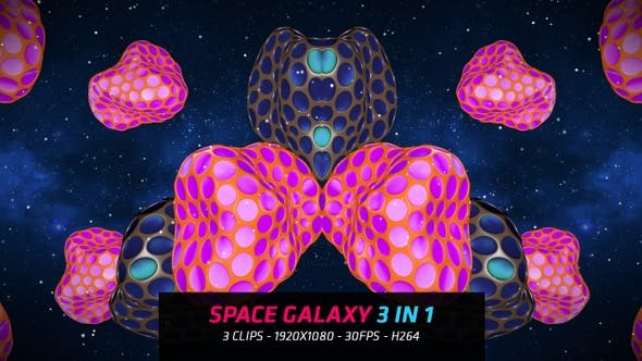 Cover Image for Space Galaxy 3 in 1