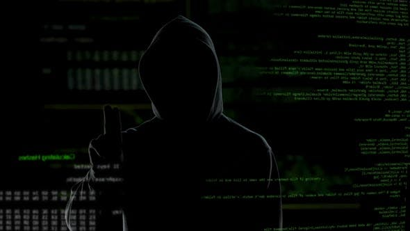 Thumbnail for Successful cyberattack message, hacker getting access to system, privacy attack