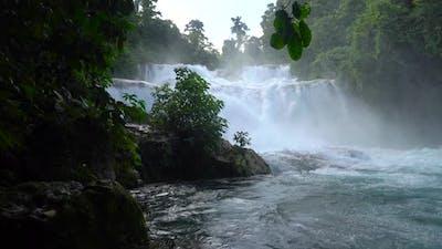Beautiful Tropical Aliwagwag Falls