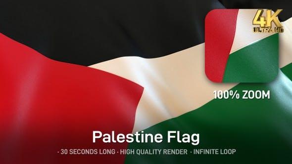 Thumbnail for Palestine Flag - 4K
