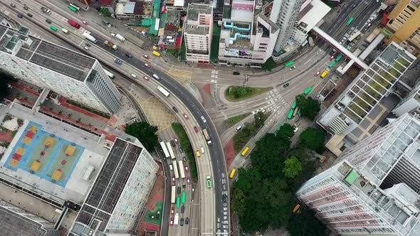 Thumbnail for Hong Kong city from top
