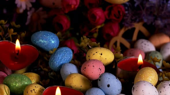 Thumbnail for Colorful Traditional Celebration Easter Paschal Eggs 51