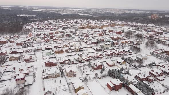 European Village in Winter
